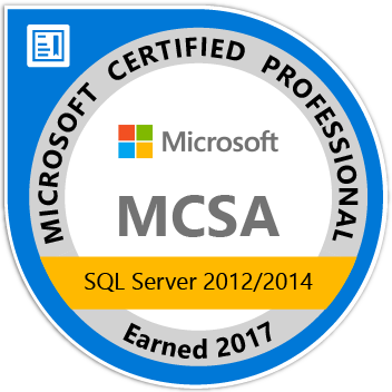 Microsoft Certified Solutions Associate (SQL Server)
