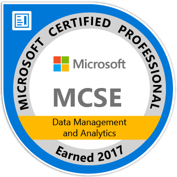 Microsoft Certified Solutions Expert (SQL Server)